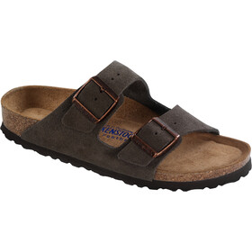 Birkenstock Arizona Soft Footbed Sandals Suede Leather mocca